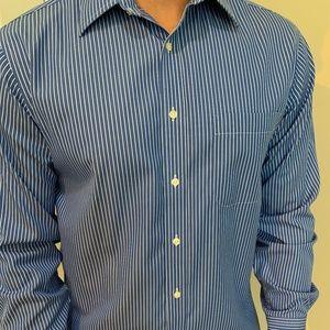 Jos A Bank Traveller 16-34 Dress Shirt